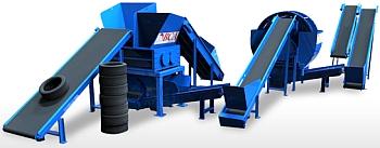 Бизнес по переработке шин в крошку