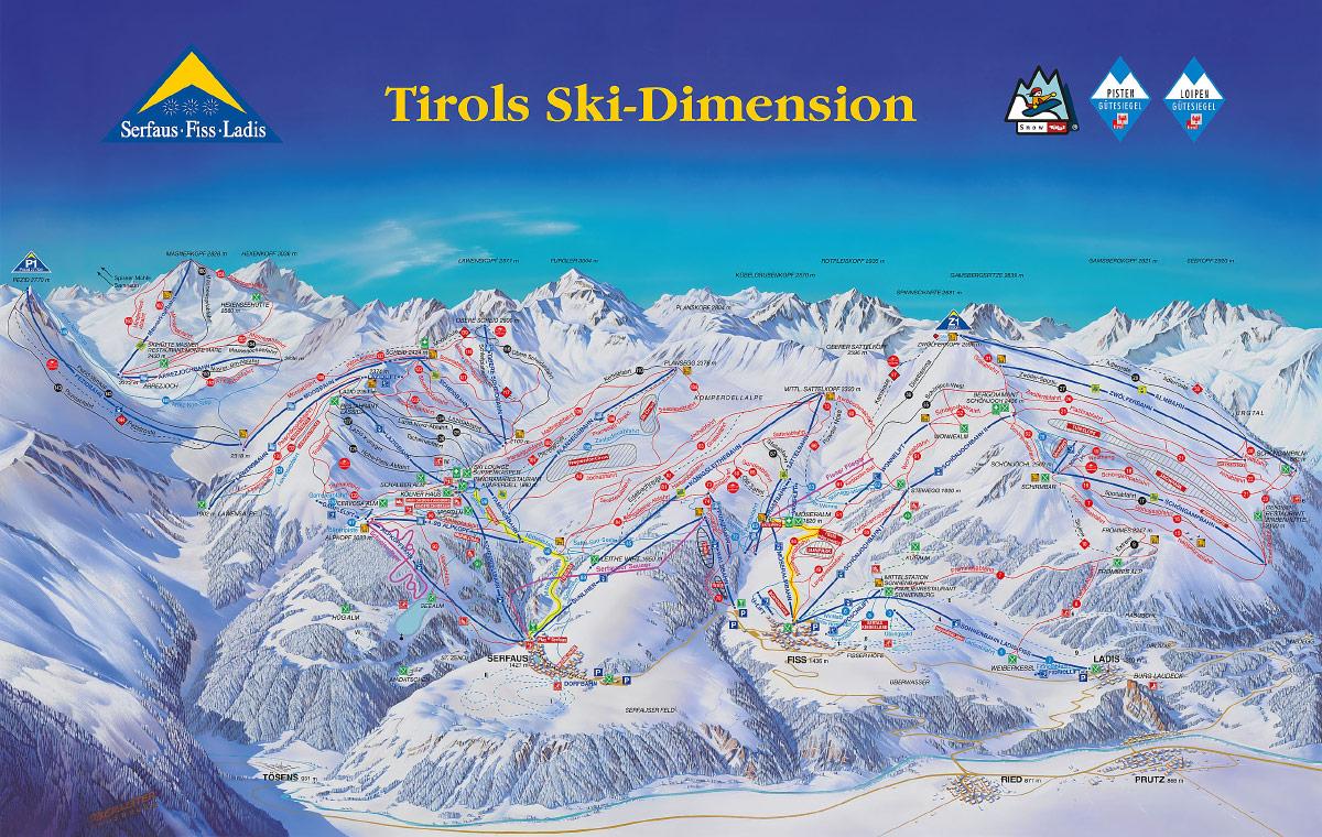 Лучшие горнолыжные курорты австрия