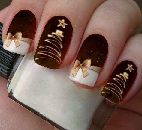 Christmas nails pinterest