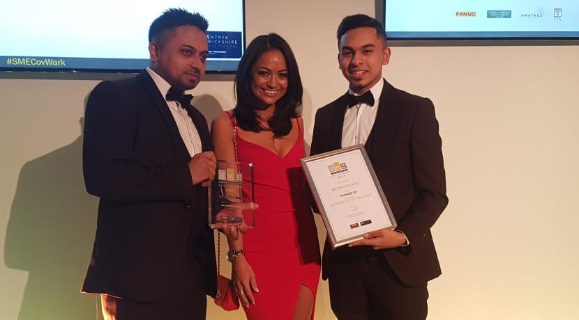 Millennium Balti wins SME Business Award