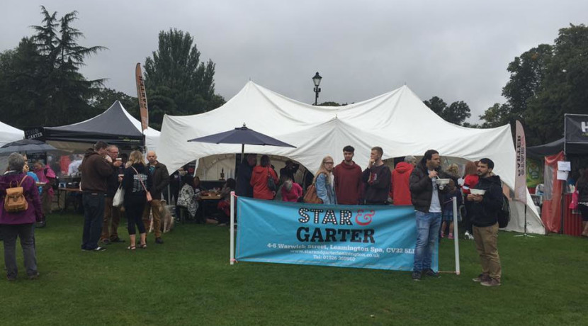 The Star & Garter launches Mac Shack at Leamington Food Festival