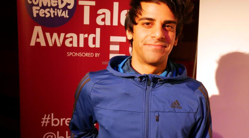 Kai Samra wins Birmingham Comedy Festival Breaking Talent Award
