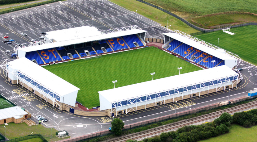 Shrewsbury Town FC set for first English safe standing area