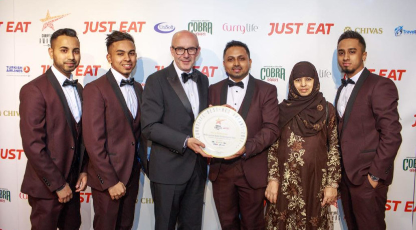 Leamington's Millennium Balti wins Curry Life Award