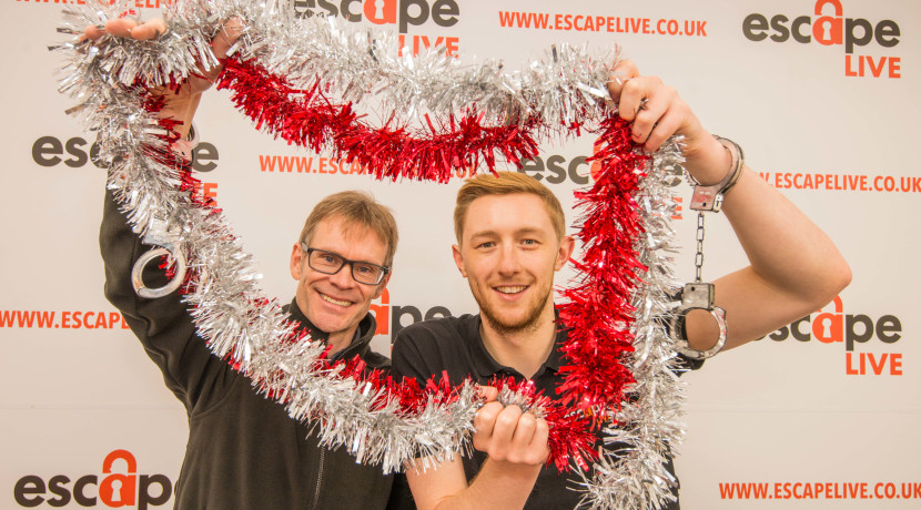 Lock up your loved ones at Escape Live this Christmas