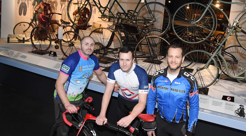 Charity bike ride celebrates Coventry cycling innovators