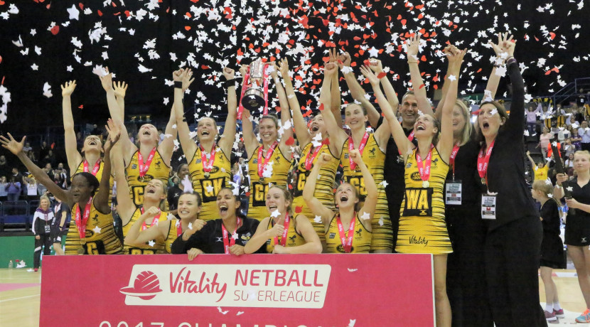 Netball champions to make Ricoh Arena appearance