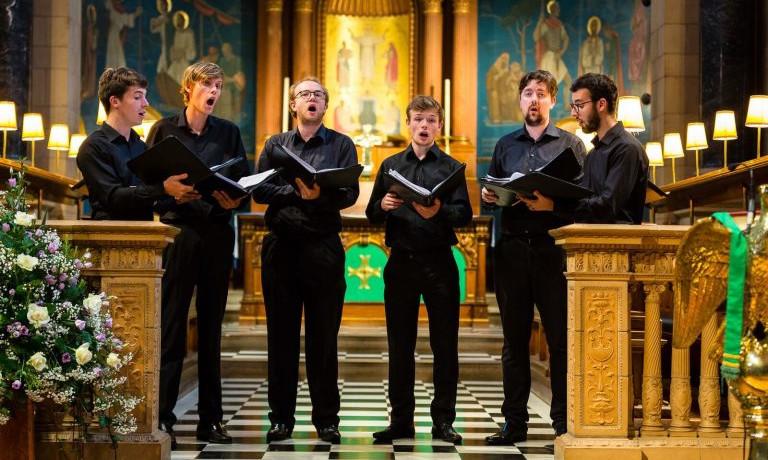 The Gesualdo Six debut in Warwick