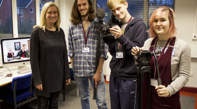 Director turns the tables on student filmmakers