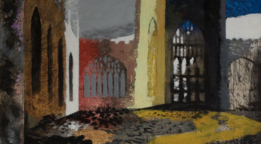 Major John Piper exhibition opens at Mead Gallery
