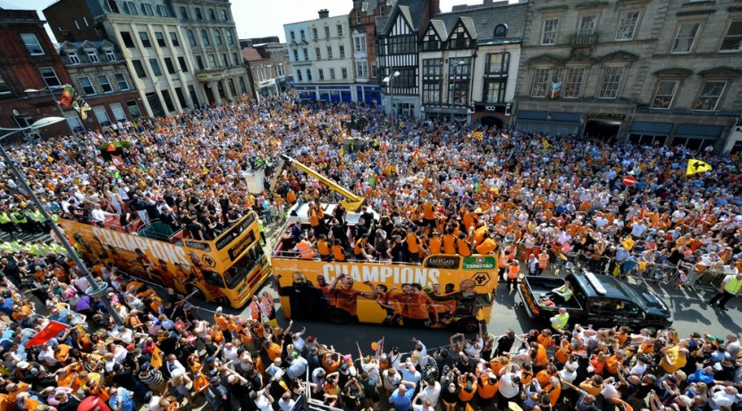 Wolves' promotion joy to feature in gallery exhibition
