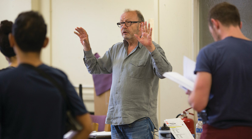 Michael Boyd talks about language, religion and politics in theatre