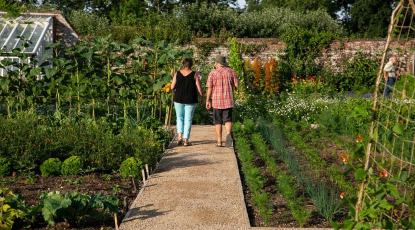 New vegetable garden opens at Baddesley Clinton
