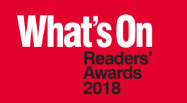 Get voting for your favourites in the What's On Readers' Awards 2018