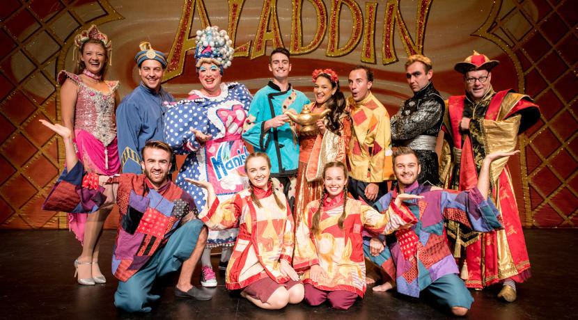 Lichfield Garrick's Aladdin 'takes off'