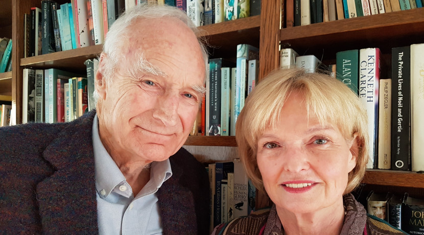 Television legend Peter Snow and his wife present an evening of War Stories
