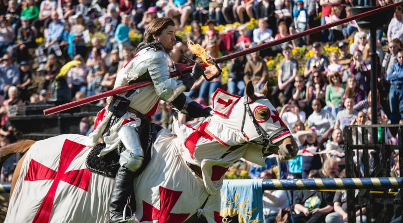 St. George's Day Extravaganza returns to Tamworth Castle