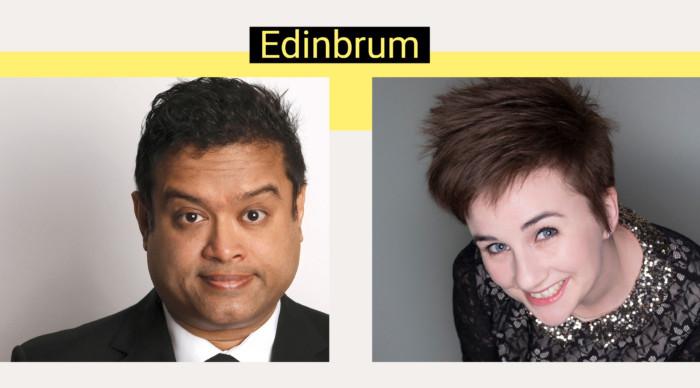 Edinbrum - Paul Sinha & Laura Lexx