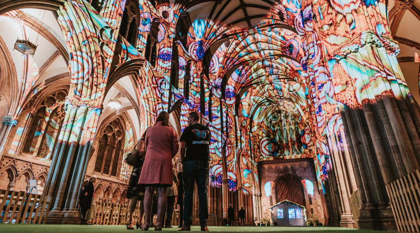 Imagine peace in our time at Lichfield Cathedral