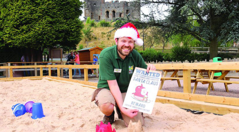 Dudley Zoo is in hot pursuit of Santa