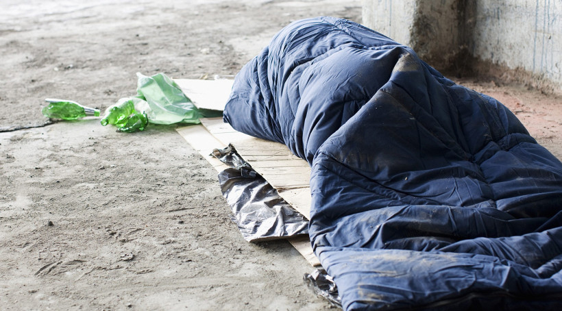 Big sleep out in aid of the homeless