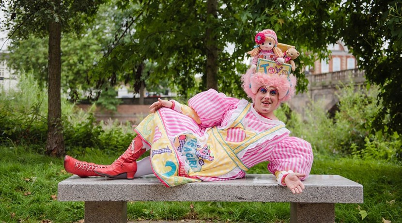 Panto favourite Brad Fitt chats ahead of Theatre Severn's Snow White