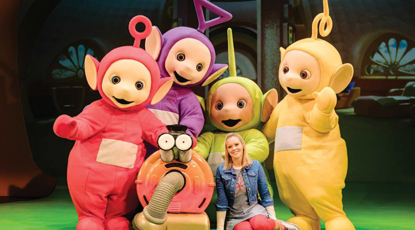 Family ticket to Teletubbies Live