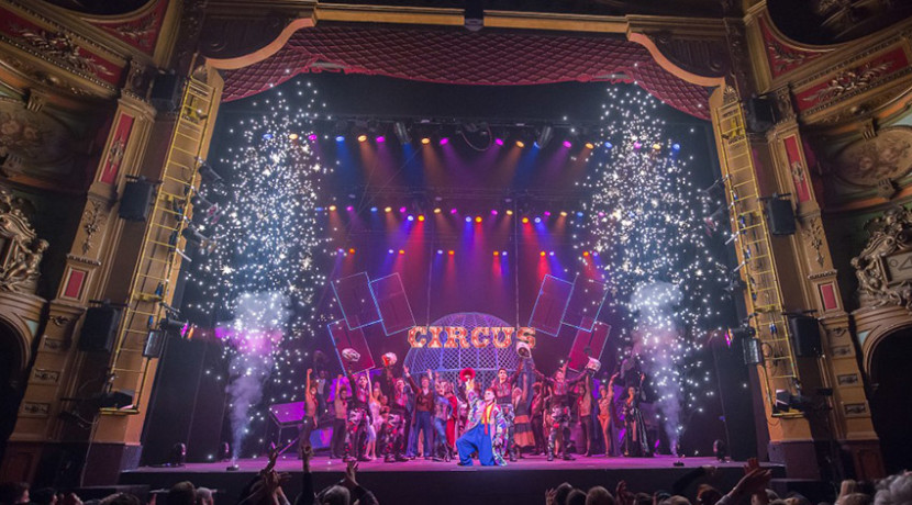 Family ticket to Cirque Berserk!
