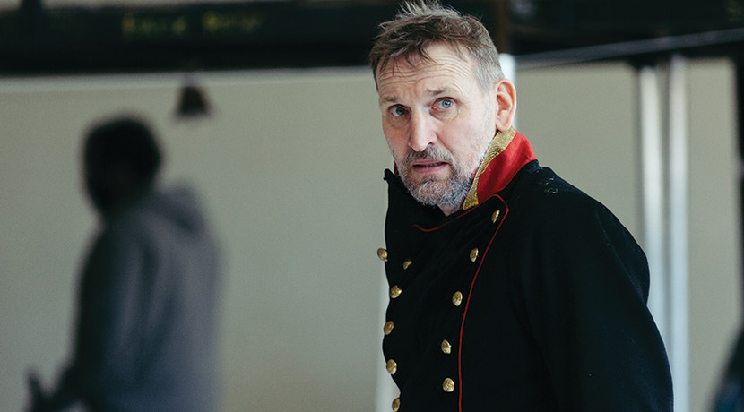 Christopher Eccleston makes his RSC debut