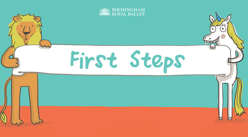 BRB's First Steps, A Child's introduction to ballet