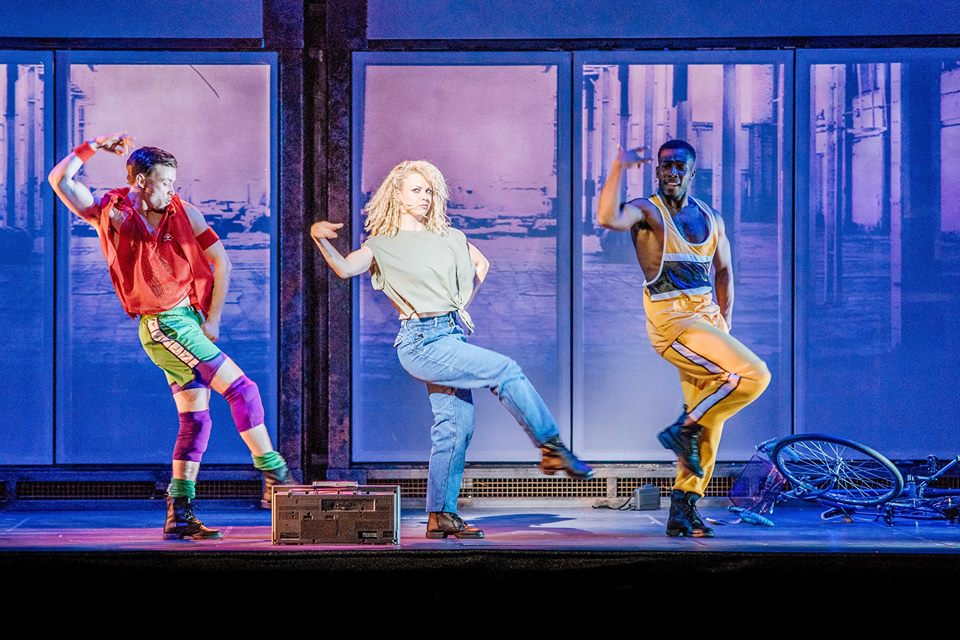 Joanne Clifton on her role in Flashdance the musical