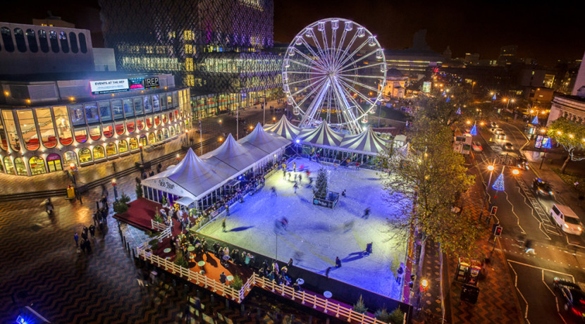 Plans have been submitted to move Birmingham's Big Wheel and Ice Rink