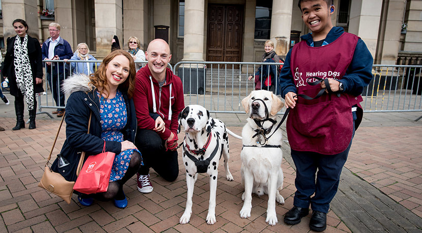 The REP gets tails wagging with fundraising efforts for hearing dogs
