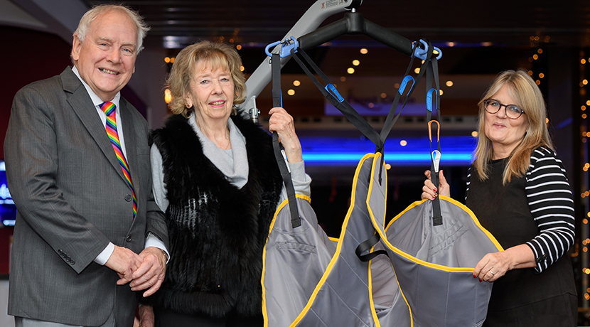 Generous donors gift Birmingham Hippodrome with mobile hoist