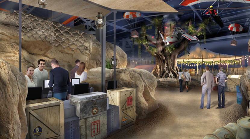 Bear Grills Adventure unveils Basecamp areas