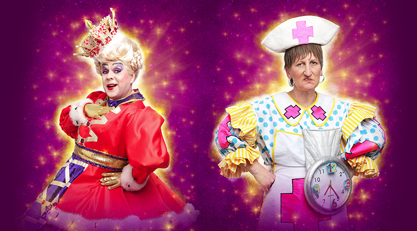Doreen Tipton and Ian Adams return to the Grand panto