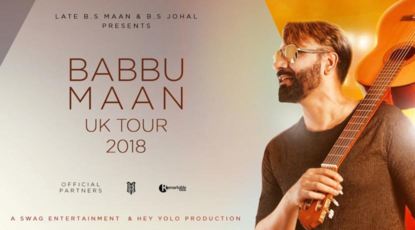 Babbu Maan is coming to Birmingham