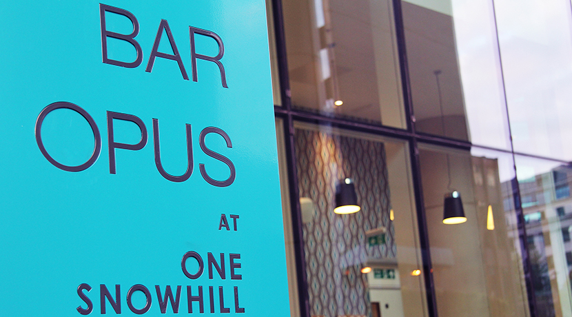 Bar Opus joins forces with Birmingham artist for exhibition