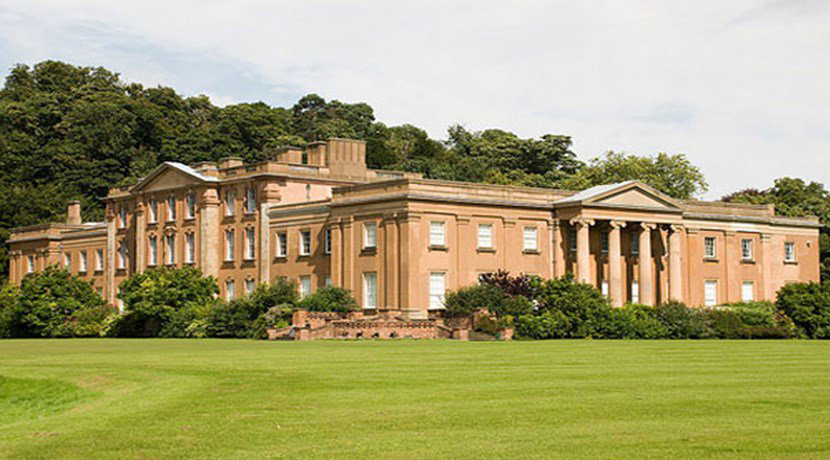 Overnight accommodation and luxury apartments plan for Himley Hall