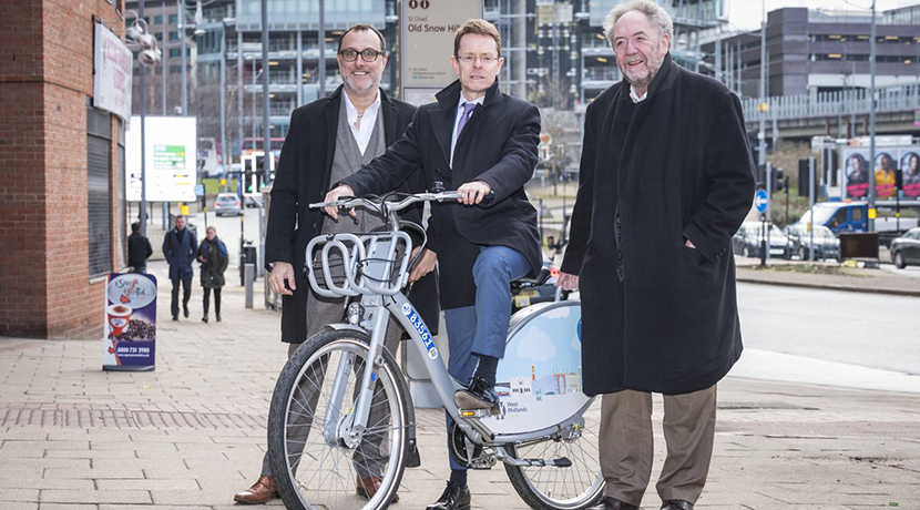 Boris style bikes are coming to Wolverhampton