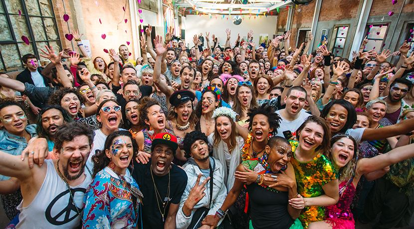 Colmore Business District kick-off Birmingham International Dance Festival sponsorship with morning rave