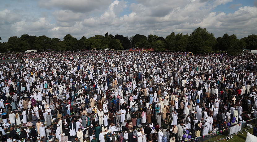 Record 140,000 Muslims attend Eid celebration in Birmingham