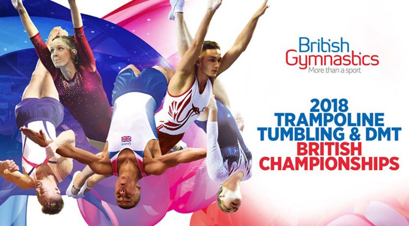 The 2018 Trampoline, Tumbling & DMT British Championships