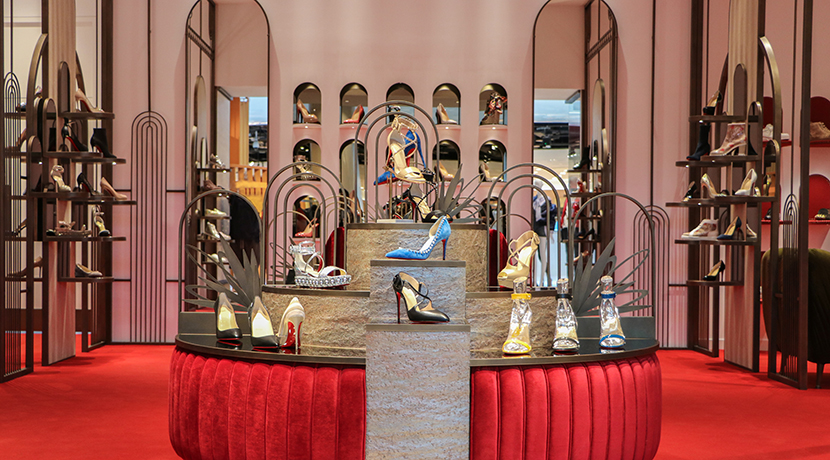 New Christian Louboutin, Gucci and Burberry boutiques have opened in Selfridges