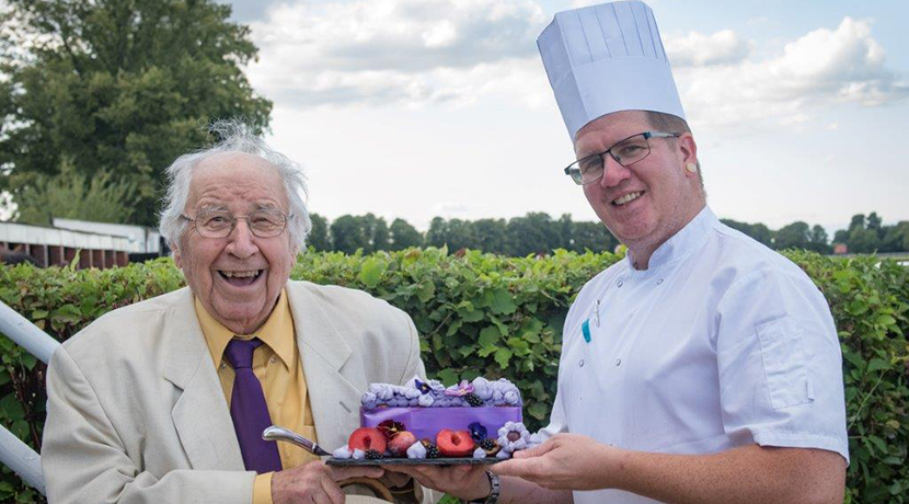 TV's Henry Sandon Celebrates 90th Birthday at First-Ever National Plum Day