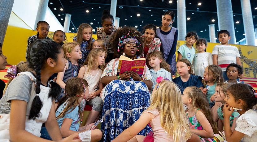 Matilda the Musical visits The Library of Birmingham