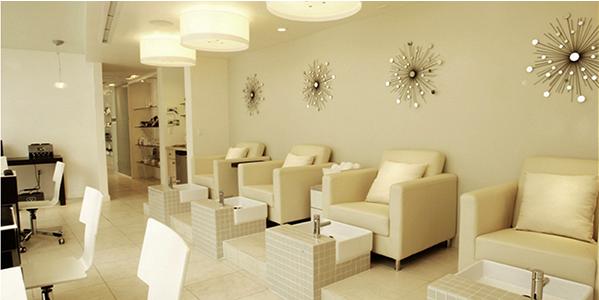 Nails salon interior design ideas