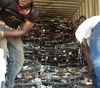 japanese used bicycles, african bicycle shop, used bicycles store in africa.