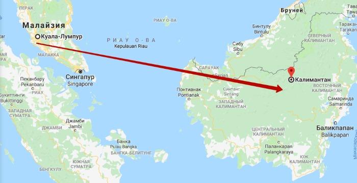 Остров Калимантан. Где находится на карте мира, фото, описание, географические координаты, отдых