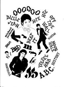 Weekend Workshop: Donald Urquhart's Michael Jackson Alphabet: the bigger picture